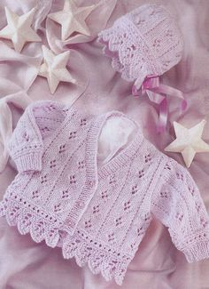 vintage knitting pattern PDF b