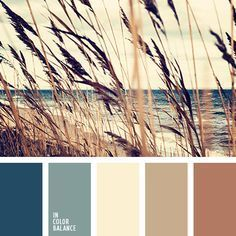 I think this is my palette for the house. Natural gamma: blue sea color, gray-blue, shades of sand and heather. This palette is useful when selecting combinations of natural materials. Paint Schemes, Colour Schemes, Color Combos, Paint Combinations, Beautiful Color Combinations, Wall Colors, House Colors, Paint Colors, Pantone