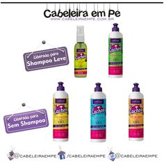"""Clique em """"Visite"""" para conferir a Composição da Linha Love Cachos da Capicilin.   #lowpoo #shampooleve #nopoo #semshampoo #novidade #lancamento #cabelos #beleza #lovecachos #capicilin"""