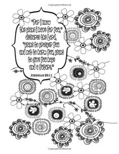Romans 12:12 Scripture Coloring Page www.itstheword.etsy