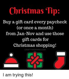 Image result for christmas tip gift card craftymorning
