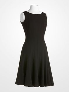 e33d116a653  CalvinKlein  black  dress  lbd  littleblackdress  fitandflare  chic   classic  designer  womens  fashion  style