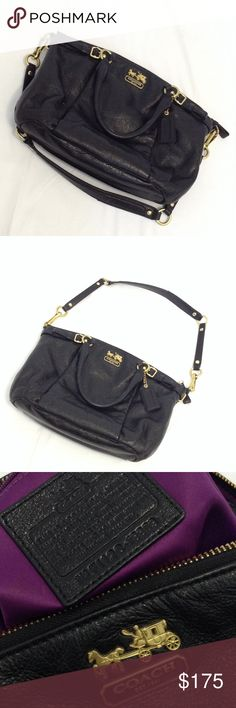 Ⓜ️$100 Coach Sophia Madison satchel No scuffs or stains, hardware in great condition. Coach Bags Satchels