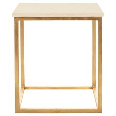 brass and granite table