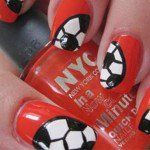 Nail Designs In The Spirit Of World Cup
