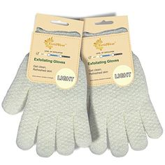 EvridWear Exfoliating Dual Texture Bath Gloves for Shower, Spa, Massage and Body Scrubs, Dead Skin Cell Remover, Gloves with hanging loop Pairs Light) Texture Words, Exfoliating Gloves, Spa Massage, Dead Skin, Smooth Skin, Shower Gel, Healthy Skin, Body Scrubs, How To Remove