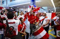 Drums beat for Peru as football team arrives in New Zealand for World Cup qualifier