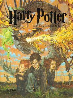 Harry Potter - Swedish Cover Illustrations