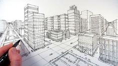 Çizim+Tekniği+-+İnanılmaz+Şehrin+Resmi - Çizim+teknikleri,+örnekleri+ve+ipuçlarını+videolu+anlatımı+-+inanılmaz+şehrin+resmi