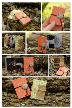 Mini Accordion Photo Albums