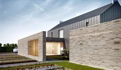 contemporary pitched roof - Google Search
