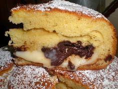 TORTA ALLA CREMA DI NUA - Qui la #ricetta #BlogGz: http://blog.giallozafferano.it/lacucinadiannama/la-torta-alla-crema-di-nua-ricetta-dolce-soffice/ #GialloZafferano #torta #dolce #merenda