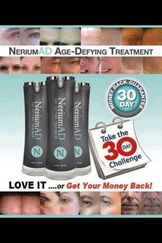 Take the Nerium AD 30 day challenge and enjoy the BEST skin of your life! www.jessicanewman.nerium.com
