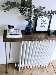 THE GROWN UP EDIT - DIY Hallway Table halls hallway ideas ideas small ideas entrance hallway ideas ideas paint Grey Hallway, Decor, Painting Furniture Diy, Hallway Table Decor, Diy Furniture Couch, Diy Furniture Videos, Hallway Table Diy, Diy Furniture Table, Hallway Decorating