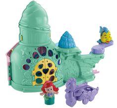 Enlarge Fisher-Price-Little-People-Disney-Ariel-Castle-PlaysetAction Figures/Figures Image