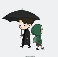 #goblin #korean #kdrama #koreandrama #grimreaper #euntak #deokhwa #cute #animated #drawing #chibi