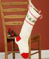 1000 images about knit christmas stockings on pinterest for Fave crafts knitting patterns