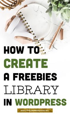 How to build your email list and create a freebies library. Blogging tips.