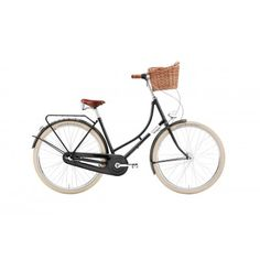 """Rower Miejski Damski Creme Holymoly Lady Doppio Classic Black 3S 28"""". Idealny rower miejski na zakupy i nie tylko. http://damelo.pl/damskie-rowery-miejskie-stylowe/532-rower-miejski-damski-creme-holymoly-lady-doppio-classic-black-3s-28.html"""