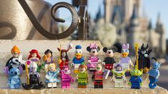Lego Disney Characters! WANT!