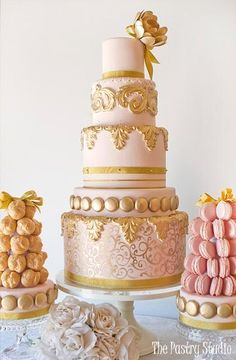 The Pastry Studio in Daytona Beach FL // central florida wedding cake vendors