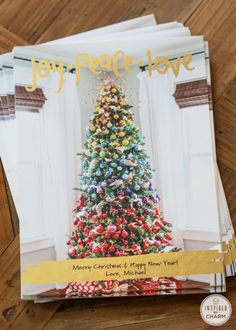DIY Holiday Cards - plus unique tips and trips for making theme extra special! @StaplesInc  #LessStress