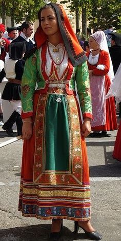 Italian tradition costume