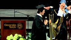 This is Sooooooo FUNNY.Georgia Tech Freshman Convocation - Epic Sophomore Welcome Speech - Full Version Georgia Institute Of Technology, School Hacks, School Tips, Nerd, Funny Thoughts, Public Speaking, Freshman, Really Funny, You Can Do