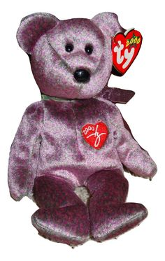fc031affcca Beanie Baby TY Sunny Beanie E Baby Bear PE Pellets 2000 Mint TH 8421044016