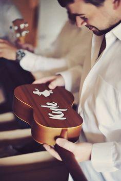 groomsmen gift - custom ukulele