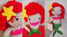 Sol de Noche {deco crochet}: Little Mermaid Pattern
