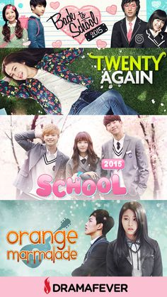 Just because it's back-to-school season doesn't mean you have to stop your K-drama addiction! Attend classes with your favorite stars with these awesome dramas!