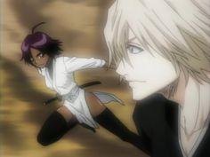 kisuke urahara and yoruichi | Image of Yoruichi Shihoin (Yoruichi Shihouin and Kisuke Urahara in ...