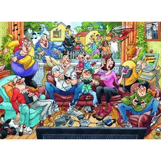 Wasgij - Back to 1 - 1000pc jigsaw puzzle