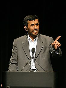 Mahmoud Ahmadinejad - Wikipedia, the free encyclopedia