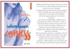 #Chronique : Confess - Colleen Hoover