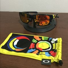 4a026596f1 VR46 oakley jupiter mint condition • basically new • pouch included. Oakley  Accessories Sunglasses