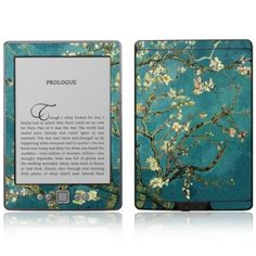 Amazon Kindle 4 Decal Skin - Almond Branches in Bloom http://www.fit4skins.com/eBook-Tablet/Amazon-Kindle/Amazon-Kindle-4/Amazon-Kindle-4-Decal-Skin-Almond-Branches-in-Bloom