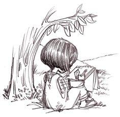 Sketch Girl, Priscilla Burris