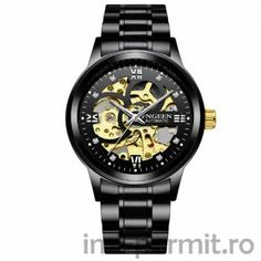 Skeleton Watch 2019 New FNGEEN Sport Mechanical Watch Luxury Watch Mens Watches Top Brand Montre Homme Clock Men Automatic Watch Skeleton Watches, Leather Watch Bands, Beautiful Watches, Elegant Watches, Mechanical Watch, Mechanical Hand, Automatic Watch, Luxury Watches, Stainless Steel Case