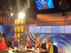 Studio10 panel with comedian Gary Eck