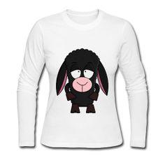 Women's Long Sleeve Jersey T-Shirt Long sleeve crew neck jersey t-shirt for women, 100% cotton, Brand: Bella