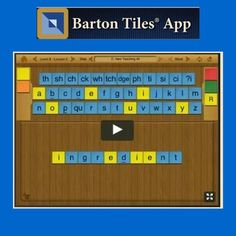 43 Best Barton Reading Spelling System Images Learning