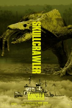Godzilla King of the Monsters: Skullcrawler, King of Not Having Arms Fantasy Creatures, Mythical Creatures, Films Récents, Cult Movies, Animatronic Fnaf, Godzilla Franchise, Giant Monster Movies, Rukia Bleach, King Kong Vs Godzilla