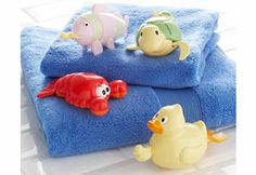 Wind Up Toy Races: Line up your toddlers' wind up bath toys, and watch them race? Who will win?