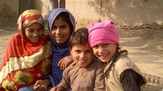 From cotton field to classroom  --- Meet Iqra, second from left, sitting here with her siblings. She is 13 years old. A year ago, she would spend her days picking cotton and helping with domestic work in order to help support her family.     Today, thanks to an IKEA Foundation-supported project implemented by UNICEF, she is enrolled in school and has plans for her future.     You can learn more by visiting: http://www.unicef.org/infobycountry/pakistan_68289.html     © UNICEF…