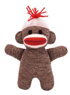 Sock Monkey Baby - Brown by Schylling - $7.99 BAHHH I WANT ITTTT! <3 <3 Zach it's so cute I'm gonna die!!!!