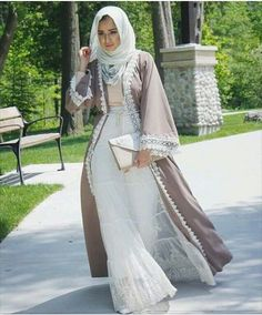 Hijab Style: Elegant and Alluring Abaya Designs with Hijab