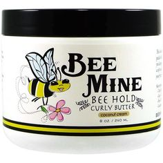 Bee Mine Curly Butter for Wash and Go's Natural Hair Care, Natural Hair Styles, Natural Beauty, Finger Curls, Curly Hair Problems, Wash And Go, Coconut Cream, Diy Hairstyles, Hairstyle Ideas