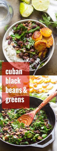 Black beans are simmered up with cumin and lime, then served over rice with sweet pan-fried plantains to make this mouthwatering Cuban-inspired vegan meal.
